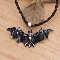 Halloween Anhänger von Tieren Halskette der Fledermaus Juwelen von Punk