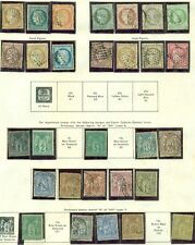 FRANCE COLLECTION 1862 to 1964, Minkus Specialty album, 90%+ Mint Scott $7,700