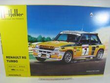 RENAULT 5 TURBO TOUR DE CORSE 1982 RAGNOTTI 1/24 HELLER (KIT ASSEMBLY)