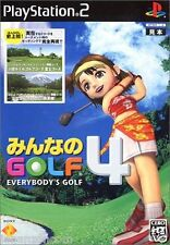 Used PS2 Minna no Golf Everybody's Golf 4 SONY PLAYSTATION JAPAN IMPORT