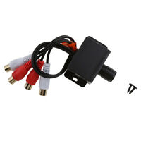 Universal Car Audio Amplifier Sound RCA Level Adjust Remote Control Adapter