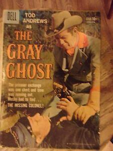 Grey Ghost Dell # 1000 (1959) TV Civil War photo cover VG 3.5