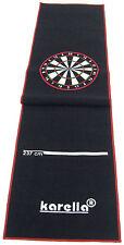 Dartmatte Dartteppich Karella Premium Velour 290x60 cm für Steel und Softdart
