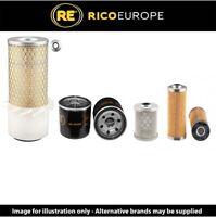 Takeuchi TB015 Filter service Kit Air, Oil, Fuel Filters
