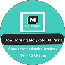 Dow Corning Molykote DX Paste -- Grease for Mechanical Systems Watches 15 Grams