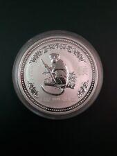 2004 Australia Year of the Monkey 1 oz 999 pure SILVER COIN - Lunar series 1