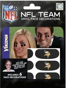 Minnesota Vikings Eye Black Strips 6pk