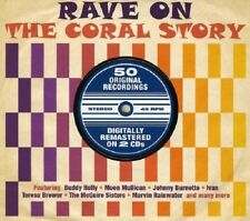 Rave On-The Coral Story 2-CD NEW SEALED Buddy Holly/Charlie Gracie/Teresa Brewer
