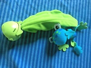 Fisher Price Rainforest Jumperoo Hanging Blue Frog Toy Replacement Part