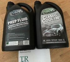 Evans Classic Cool 180° Waterless Engine Coolant plus Prep Fluid - 5L of each