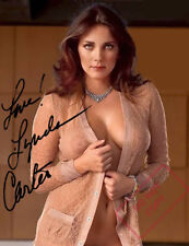 REPRINT 8x10 Signed  Photo: Lynda Carter Sexy Sweater