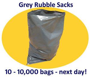 """Heavy Duty Builders Rubble Sacks 20 x 31"""" (508 x 785mm)   10-10,000"""
