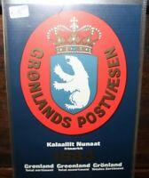 FRANCOBOLLI GROENLANDIA 1984 ANNATA COMPLETA YEARBOOK NUOVI MNH** (0 36)