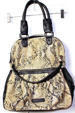 BCBGeneration snake Python Faux Leather Large Shopper Tote Shoulder