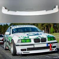 Front Spoiler Bumper Apron Splitter Valance Lip (Fits BMW E36 Standard Bumper)