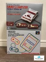 Nintendo Classic Mini Family Computer & Super Famicom Console Set NES SNES