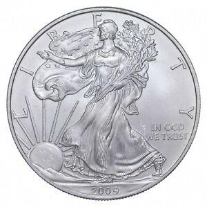 Better Date 2009 American Silver Eagle 1 Troy Oz .999 Fine Silver *715