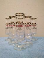 set of 6 Kulmbacher Pilsner Glasses .2L
