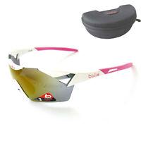 Bollé 6th SENSE S Sonnenbrille Radbrille Sportbrille Damen Herren 11913 weiß