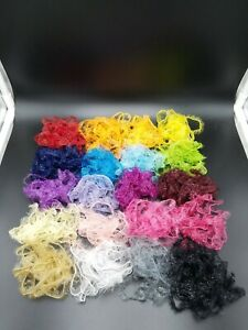 🔆Huge 20 Color Translucent Crystal Palmer Chenille Fly Tying Materials Lure Lot