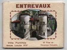 DÉPLIANT TOURISTIQUE TOURISME SOUVENIR Entrevaux Ed. Cim 10 images