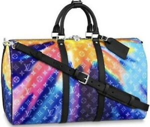 Louis Vuitton Monogram Sunset Multi Keepall 50 Extremely Limited Edition