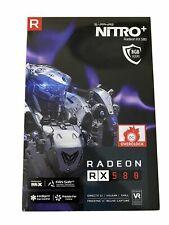 SAPPHIRE Nitro+ AMD Radeon RX580 8GB GDDR5 Dual Fan Graphics Card RX 580