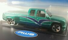 Hot Wheels Green Custom C3500 1998 First Editions #26/40 1:64 Diecast 1998