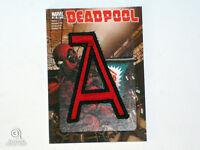 2014 Marvel Premier Deadpool Code Name Insert Card Upper Deck Patch CN-23