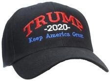 Tropic Hats Trump 2020 Keep America Great Campaign Cap #940 Black W/RWB Thread