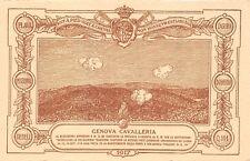 2694) WW1 1917 GENOVA CAVALLERIA , MOTIVAZIONE DELLA MEDAGLIA D'ARGENTO AL V. M.
