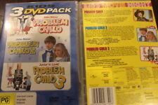 PROBLEM CHILD 1, 2 & 3 DELETED RARE PAL DVD SET JOHN RITTER OOP CHILDREN'S FILM