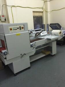 shrink wrap machine  Shrink wrapper L Sealer  wrapping tunnel , Exdemo £3995+VAT