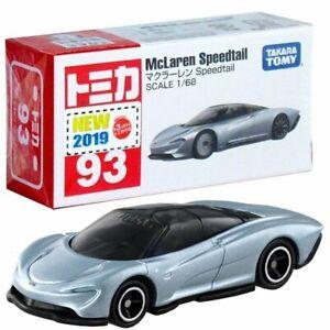 Takara Tomica Tomy #93 McLaren Speedtail Scale 1:68 Diecast Toy Car