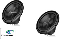 "2 -Pioneer TS-A300D4 12"" 1500 Watts Dual Voice Coil Car Subwoofer / Speaker Pair"