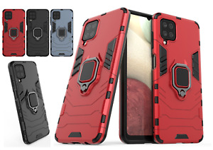 Hybrid Armor Case Shockproof Cover Ring For Samsung A12 A42 A21s S10 S20 FE S21