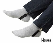 Holdem Boot Clips Elastic Leg Straps Pant Stirrups With Extra Heavy Sturdy Clip