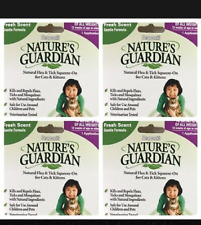 4x Flea Treatment Tick Sergeants Natures Guardian All Natural Cat Kittens Lot 4