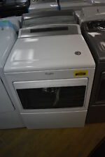 """Whirlpool Wed7500Gw 27"""" Front Load Electric Dryer White Nob #30533 Mad"""