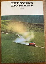 Very Rare Vintage 1967 Volvo 120 Series Car Sales Promotional Brochure Booklet