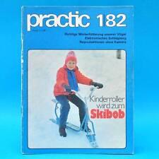 DDR practic 1/1982 Skibob Knobelwürfel Origami Mattenrodeln Kugelstafette C