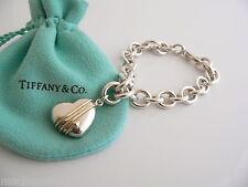 Arrow Charm Dangle Bracelet Bangle Link Chain Tiffany & Co Silver 18K Gold Heart
