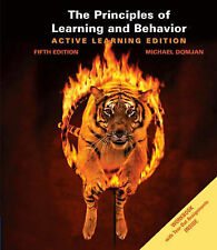 The Principles Of Learning and 5e By Michael Domjan