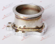 "GT25R GT28R GT28RS TO 3"" INCH V-BAND VBAND CLAMP FLANGE DOWNPIPE ADAPTER"