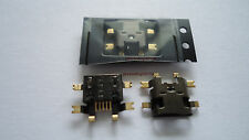 Original Blackberry Torch 9800 Conector Hembra De Carga Enchufe Micro USB
