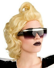 Lady Gaga Black Pop Star Dress Up Halloween Costume Accessory Sunglasses Glasses
