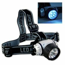 9 LED Head Lamp Flashlight Fishing Hunting Camping Head Mounted Light