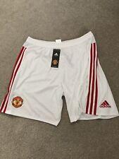 Mens Man United 2015 Home Shorts White