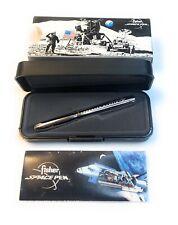 Vintage FISHER Space Pen Silver Lockheed Martin Logo Original Box & Papers EUC