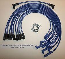 CADILLAC FLEETWOOD 1990-1993 5.0L/305 5.7L/350 BLUE  PERF 8.5mm Spark Plug Wires